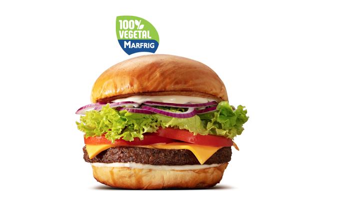 Marfrig hamburguer vegetal