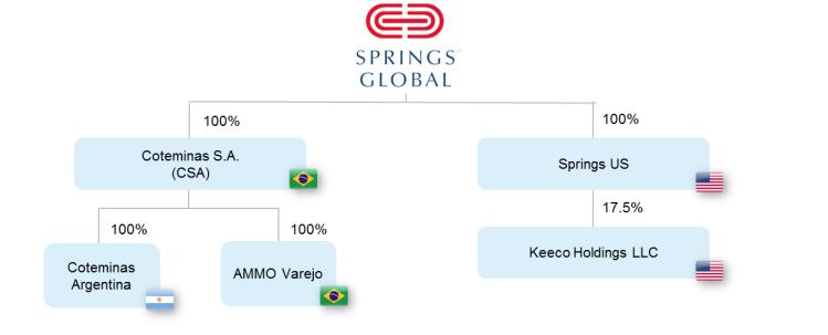 Springs participações